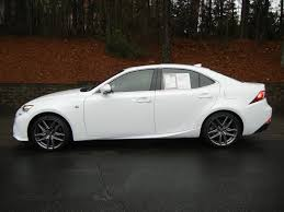 lexus is350 f sport for sale 2016 2016 lexus is350 fsport ultra white matador red used lexus is