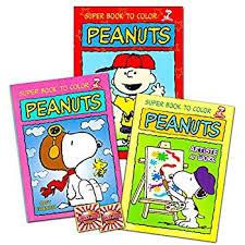 amazon peanuts snoopy coloring activity book