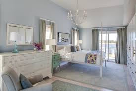 Light Blue And Silver Bedroom Silver Nightstand Bedroom Traditional With Baseboard Bedding Bow