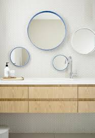 Round Bathroom Mirrors by Swinburn Avenue By Doherty Design Studio Studio