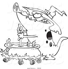 alligator coloring pages vector of a cartoon witch alligator sitrring a cauldron coloring