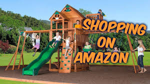 cedar swing sets amazon toddler swing sets not buy a wooden swing