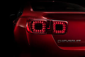 chevy malibu tail lights 2013 chevy malibu ltz concept gets only four cylinder engines