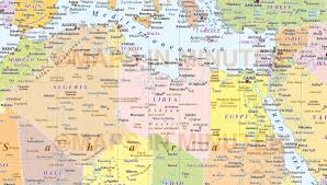Detailed Map Of Africa by Digital Vector Africa Map Political Style In Illustrator And And