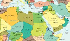 Lagos Africa Map Map Of Middle East And North Africa Africa Map
