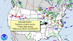 us weather map cold fronts paul poteet dot maps charts for a busy indiana weather