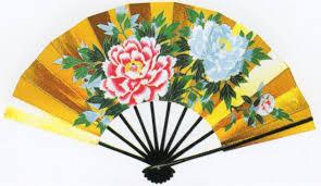 japanese folding fan maiogi japanese folding fan for perfomance