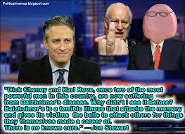 Jon Stewart Memes - political memes jon stewart balzheimer s disease