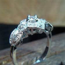 the making of u2013 platinum art deco diamond engagement ring