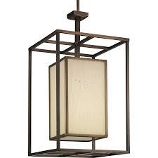 Cage Chandelier Lighting Shop Progress Lighting Haven 14 In 1 Light Copper Bronze Textured