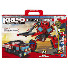 kre o transformers sentinel prime construction set
