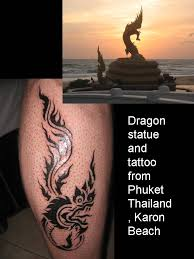 karon beach dragon thailand and tattoo tattoo picture