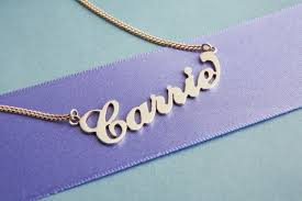 Carrie Name Necklace Carrie Name Necklace Sterling Silver
