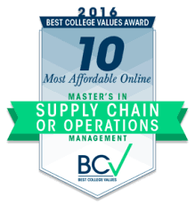 Affordable by 10 Most Affordable Online Master U0027s Degrees In Supply Chain Or