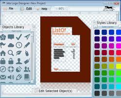 logo designer freeware 4 best free logo maker software for windows