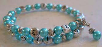 turquoise pearls bracelet images Turquoise pearl december birthstone breastfeeding reminder jpg