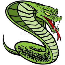 cobra tattoo stock vector image of aggression danger 53790248