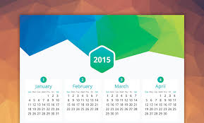 design wall calendar 2015 30 creative 2015 calendar designs