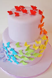 birthday cakes jersey rainbow butterfly custom cakes