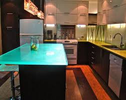 kitchen contemporary 10 fantastic glow thinkglass kitchen