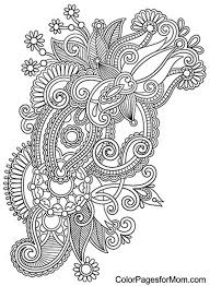 coloring pages henna art 277 best mehndi doodle images on pinterest adult colouring pages