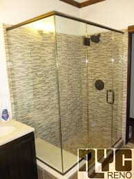 Shower Door Nyc 90 Degree Corner Shower Door Custom Glass Shower Doors Nyc Reno