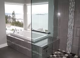 Modern Tile Bathroom - modern porcelain shower tile design ideas soothing