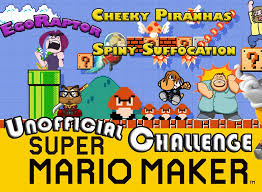 Challenge Suffocation The Unofficial Mario Maker Challenge Featuring Egoraptor