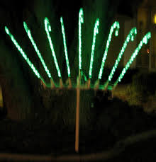 Outdoor Candy Cane Lights by Build A 6 Foot Chanukah Menorah That Stores Away Small U2013 Iraknol