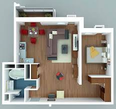 Floor Plan Apartment Design 300 Best 3d Floorplans Images On Pinterest Small Houses
