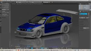 Bmw M3 Old Model - 3d modeling bmw m3 e46 m2 motoring bodykit with blender