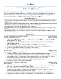 National Operations Manager Resume Professional Financial Operations Director Templates To Showcase