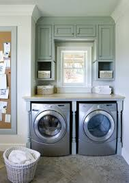 Samsung Blue Washer And Dryer Pedestal 10 Inspiring Laundry Room Spaces My Tuesday Ten No 18