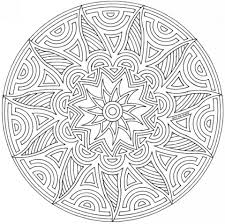 get this free geometric coloring pages to print 45578