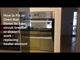how to fix a fan oven heater element replacement hotpoint fan