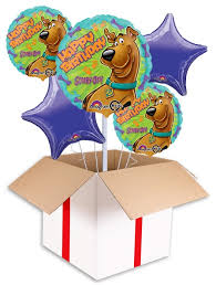 50th birthday balloons delivered scooby doo happy birthday balloon delivered inflated in uk