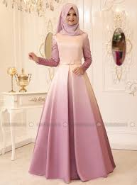 pinar sems fully lined crew neck muslim evening dress pınar şems