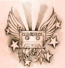 old tape tattoo sketch best tattoo designs