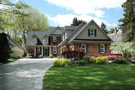 house with black shutters light beige brick houses and the common