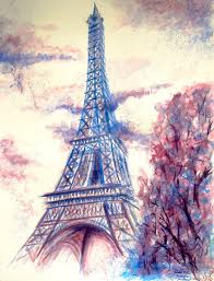 the eiffel tower in rainy day by admireroflife on deviantart