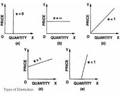 types and prices types price elasticities