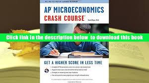 download ap microeconomics crash course book online advanced