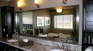 Framed Mirrors For Bathroom Startling Framed Mirrors Bathroom Large Ors Frameless Mirrors