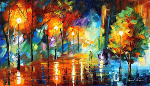 Paint Places by Bright Evening Cityscape