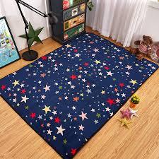 mode coloré étoiles ciel salon chambre décoratif tapis tapis sol