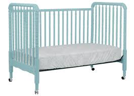 How To Convert Crib To Daybed Lind Convertible Crib In Lagoon By Davinci Baby