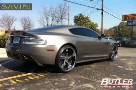 chrome aston martin dbs savini wheels