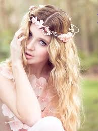 flower headpiece pink flower crown wedding headpiece flower crown bridal