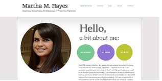 Example Of A Resume For A College Student by Stellar Examples Of Creative Online Portfolio U0026 Personal Websites