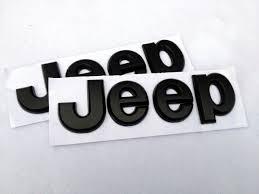 logo jeep wrangler logo noir satin 3d jeep neuf pour toute jeep us garages com